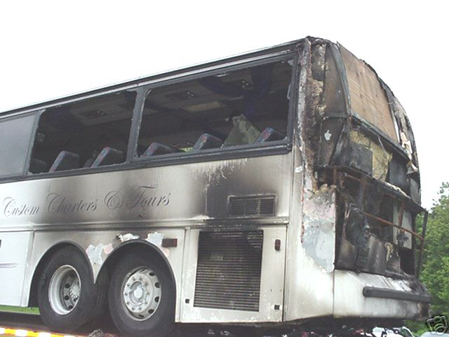 1991 Vanhool T840 Passenger Bus - Parting Out - Used Bus Part For Sale Used RV Parts