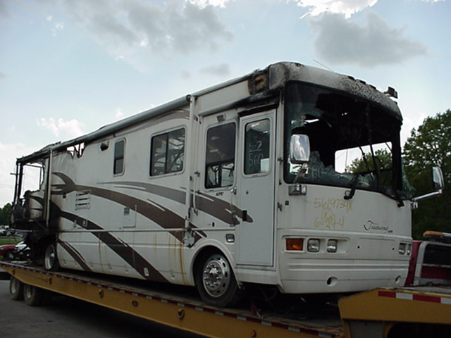 2001 TRADEWINDS DIESEL PUSHER MOTORHOME PARTS Used RV Parts