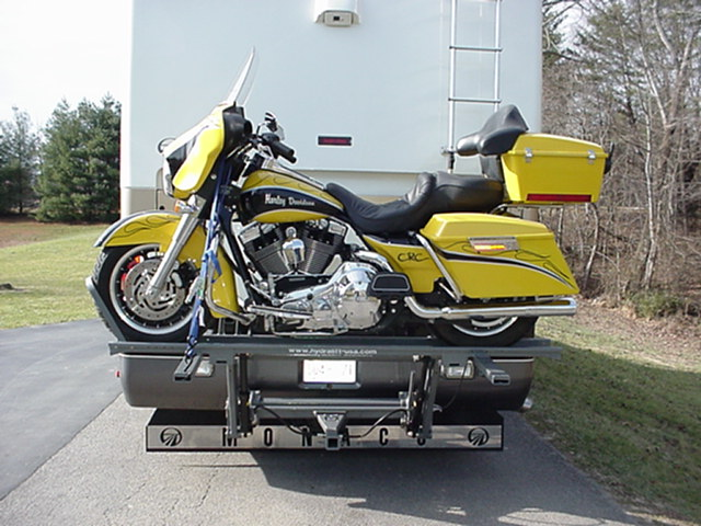 Used Rv Parts Worlds Best Rv Motorcycle Lift By Hydralift