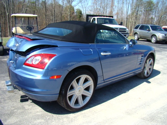 used rv parts 2005 chrysler crossfire roadster salvage used parts for sale preowned and. Black Bedroom Furniture Sets. Home Design Ideas