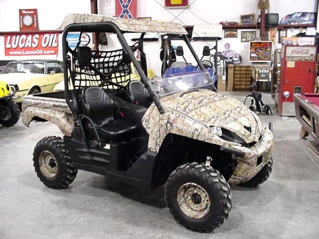 Used RV Parts 2008 KAWASAKI TERYX 750 4x4 NRA OUTDOORS CAMO ATV UTVs ...