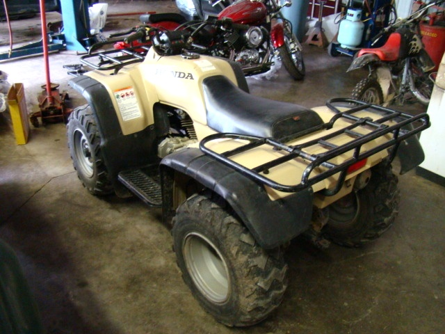 1998 HONDA 300 FOURTRAX ATV / 4-WHEELER 4X4 FOR SALE Used RV Parts