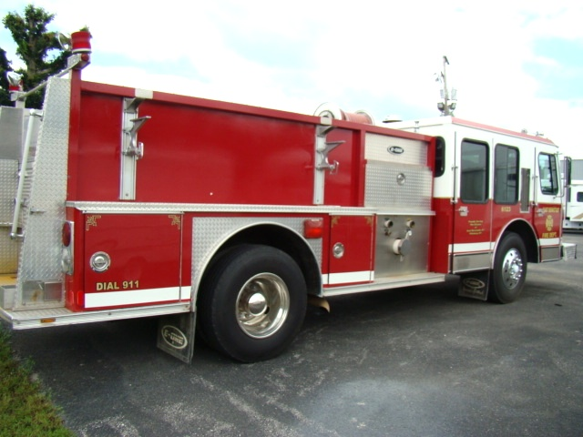 Used Fire Trucks For Sale >> Used Rv Parts 1988 E One Pumper Fire Truck For Sale Work