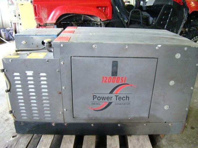 Rv Diesel Generator >> Used Rv Parts Used 12kw Diesel Generator Power Tech For Sale Bus
