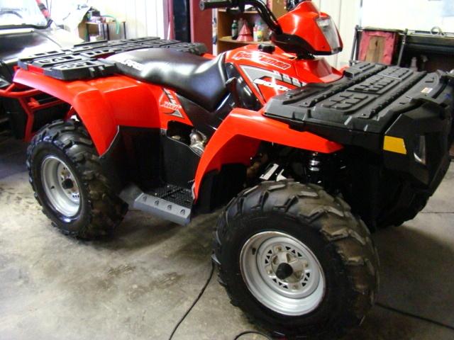 Used RV Parts 2005 POLARIS SPORTSMAN 500 HO ATV / 4-WHEELER FOR SALE