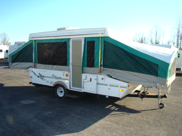 Used Rv Parts 2005 Coachmen Clipper 1270st Classic Pop Up