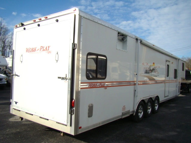 Used Rv Parts 2008 Work And Play Toy Hauler Model 40fk
