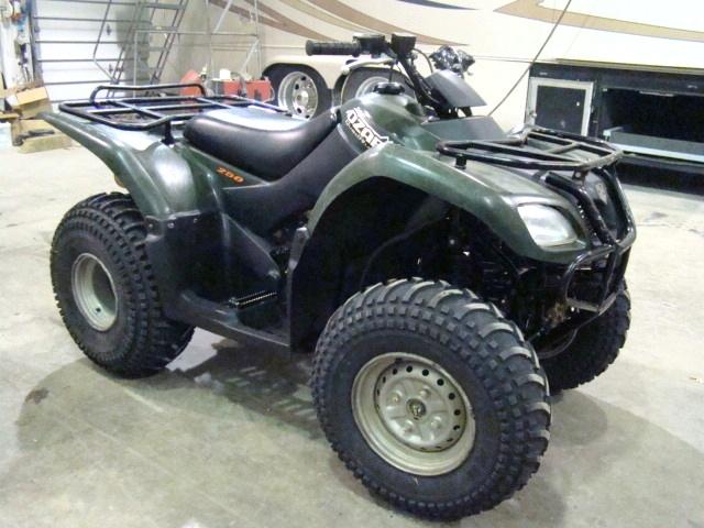 Used RV Parts 2005 SUZUKI OZARK 250 ATV QUAD RUNNER FOR SALE ATV