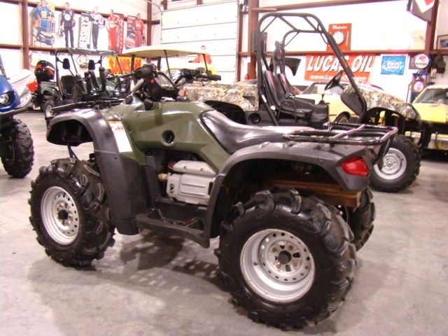 Superb 2004 HONDA RANCHER 400 ATV USED 4X4 4 WHEELER FOR SALE Used RV Parts
