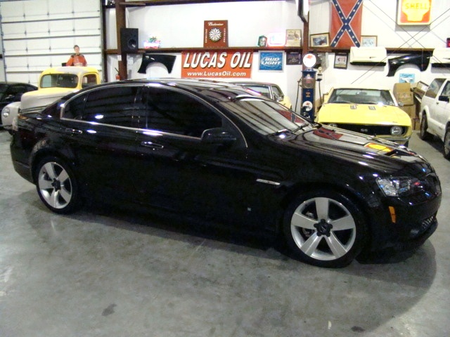 used rv parts 2009 pontiac g8 gt for sale 6 0l v8 black preowned and repairable autos. Black Bedroom Furniture Sets. Home Design Ideas