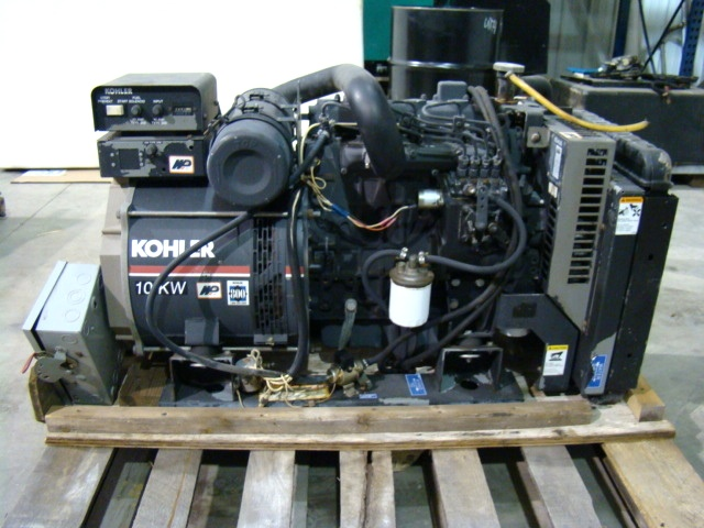 Used RV Parts BUS GENERATOR - KOHLER 10KW DIESEL GENERATOR USED FOR
