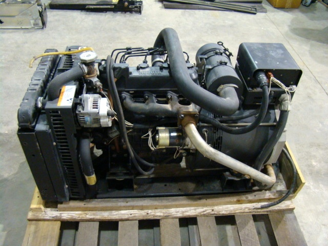 Used RV Parts BUS GENERATOR - KOHLER 10KW DIESEL GENERATOR USED FOR ...