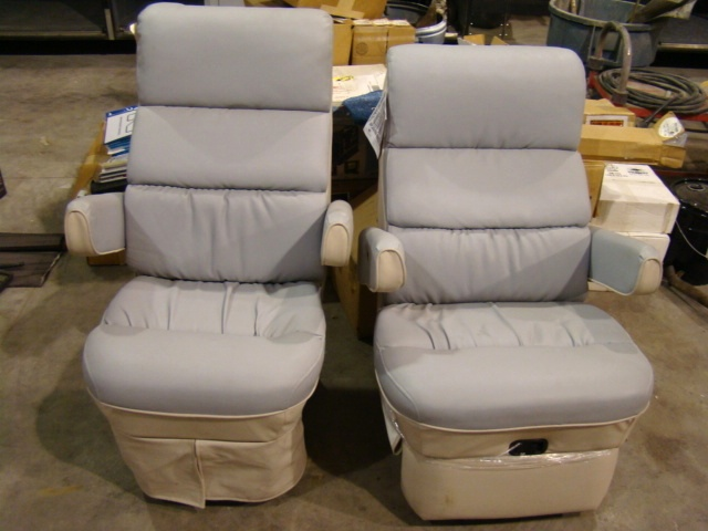 Awe Inspiring Used Rv Parts Motorhome Rv Flexsteel Captains Chairs Auto Unemploymentrelief Wooden Chair Designs For Living Room Unemploymentrelieforg
