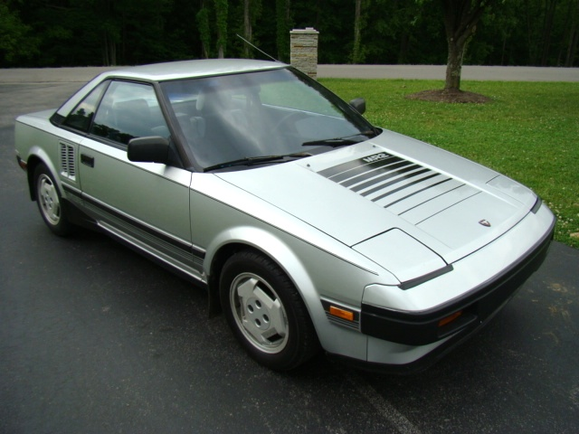 used rv parts 1985 toyota mr2 for sale only 28240 miles preowned and repairable autos toyota mr 2. Black Bedroom Furniture Sets. Home Design Ideas