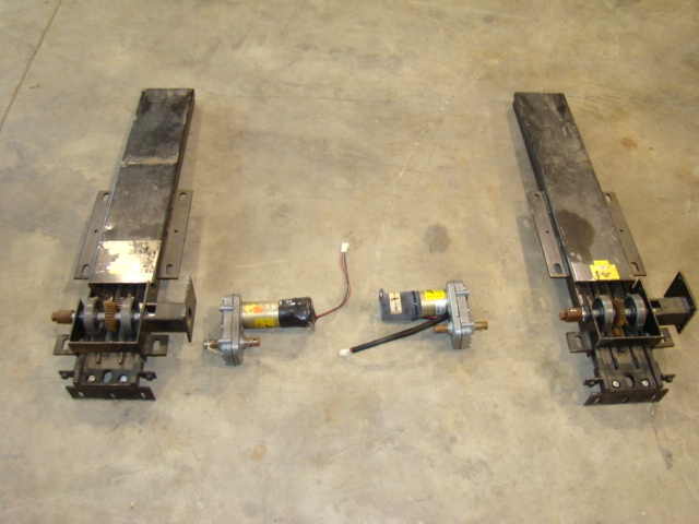 POWER GEAR SLIDE OUT PARTS ( RV MOTORHOME ) POWER GEAR SLIDE OUT EXTENSIONS - POWER GEAR 12V MOTOR FOR SALE Used RV Parts