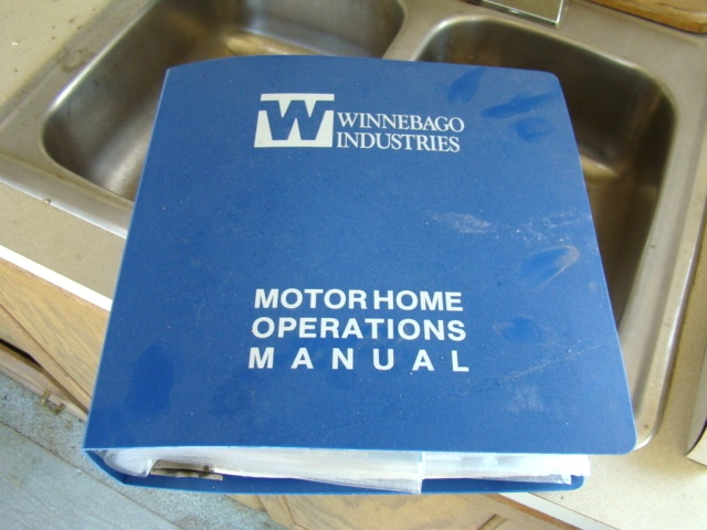 used rv parts winnebago owners manual for sale 1990 winnebago rh usedrvparts visonerv com 1994 winnebago chieftain owners manual 1988 winnebago chieftain owners manual