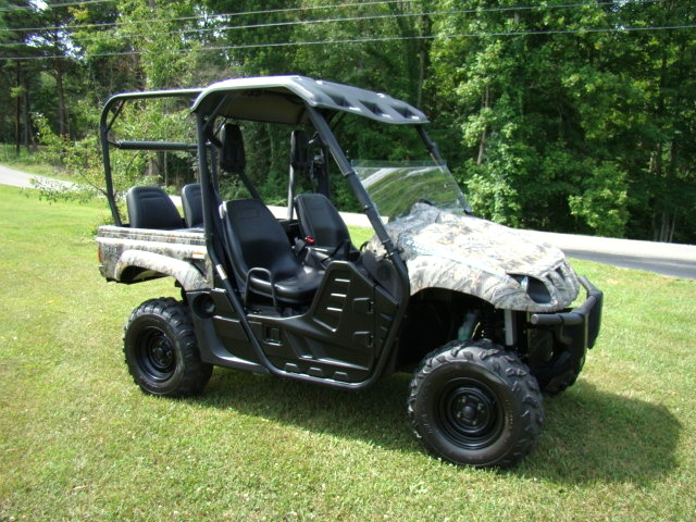 used rv parts 2007 yamaha rhino 450 4 seater utv for sale