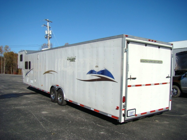 Used Rv Parts 2004 Race Car Hauler With Living Quarters 44ft
