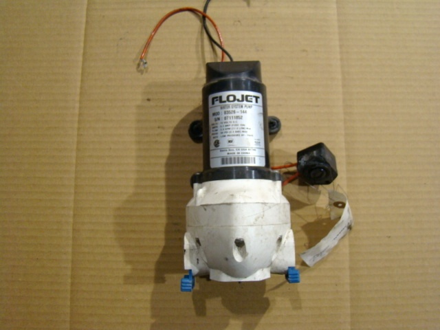 Used Rv Parts Flojet Model 03526144 12 Volt Water Pump For