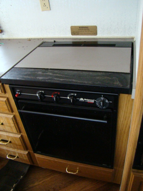 Used Rv Parts Used Rv Atwood Wedgewood 3 Burner Stove Top
