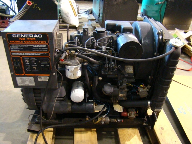 generac rv generators carburetor generac np 75d mobile diesel generator for sale motorhome bus rv generators used parts