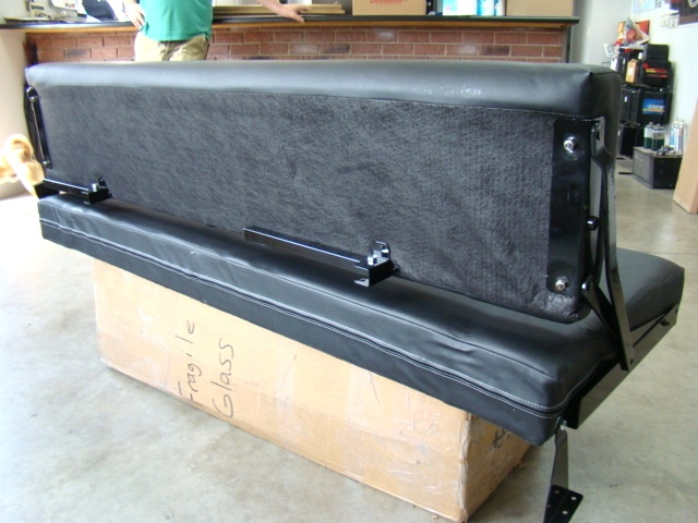 Toy Hauler Rv Jack Knife Couch For