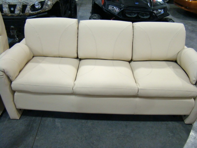 Ultra Leather Easy Bed Sofa For Rv Otorhome S Used Parts