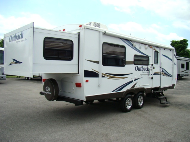 Toy Hauler Travel Trailer With Slideout For Sale