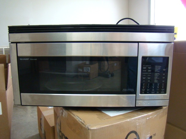 Sharp R1874t Convection Microwave Stainless For Rv Motorhome Parts Used
