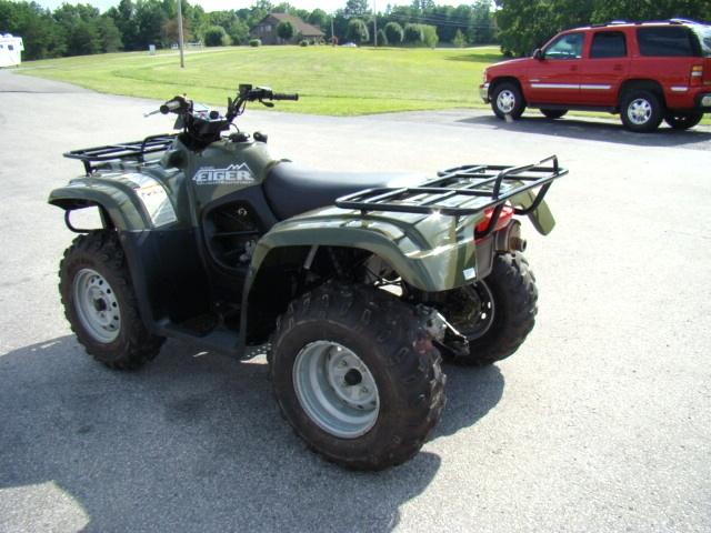 Used RV Parts 2006 SUZUKI 400 EIGER QUAD RUNNER 4X4 ATV FOR SALE ATV