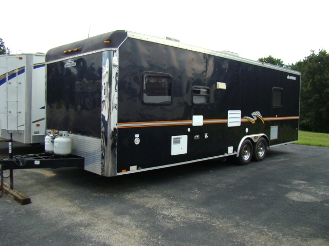 Used RV Parts 2004 CAMPMASTER 26FT TOY HAULER BY ROADMASTER