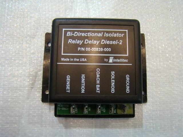 Used Bi-Directional Relay Delay Diesel-2 P/N 00-00839-000  Used RV Parts