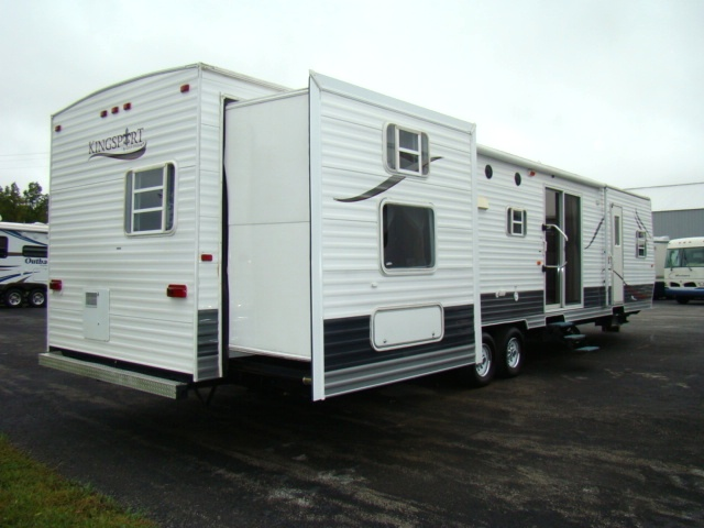 Used Rv Parts 2007 Kingsport 41ft 3 Slide Park Model For Sale Rvs Campers Motorhomes Sales And