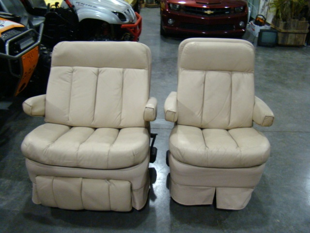 VILLA INTERNATIONAL RV   MOTORHOME CAPTIAN CHAIRS USED FOR SALE Used RV  Parts