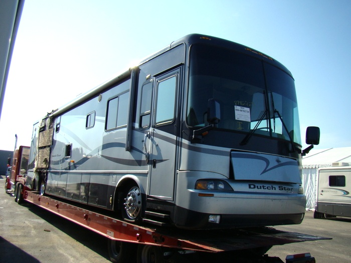 2004 NEWMAR DUTCH STAR MOTORHOME SALVAGE USED PARTS FOR SALE VISONE RV Used RV Parts