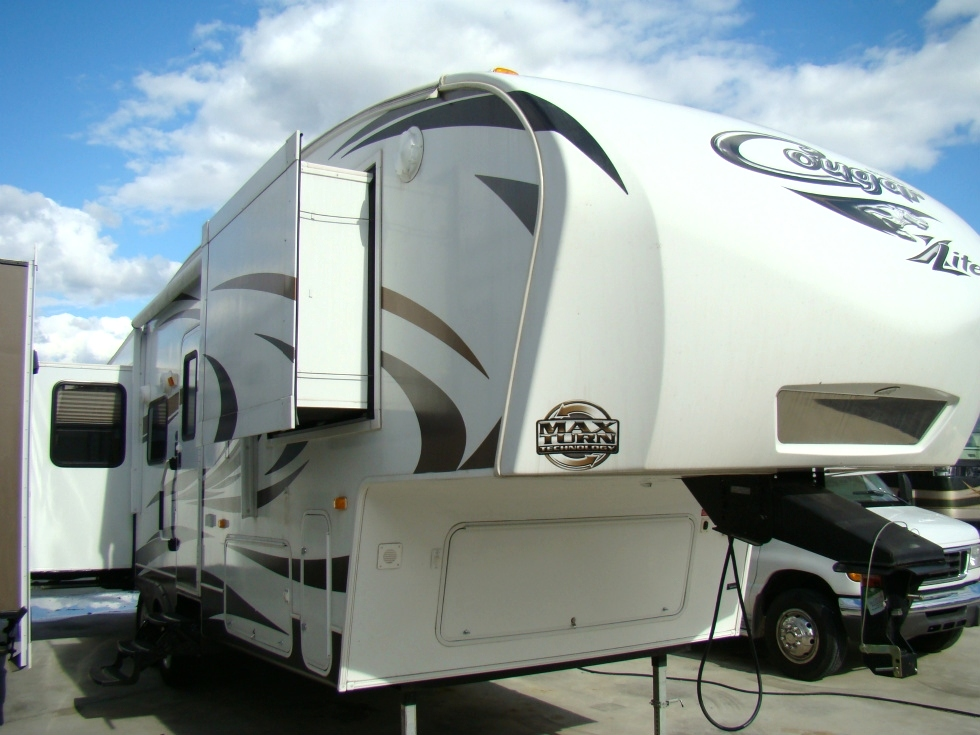 2012 KEYSTONE COUGAR LITE FIFTHWHEEL FOR SALE  Used RV Parts
