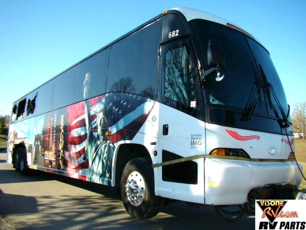 Used RV Parts 2011 MCI PASSENGER BUS FOR SALE USED BUS PARTS