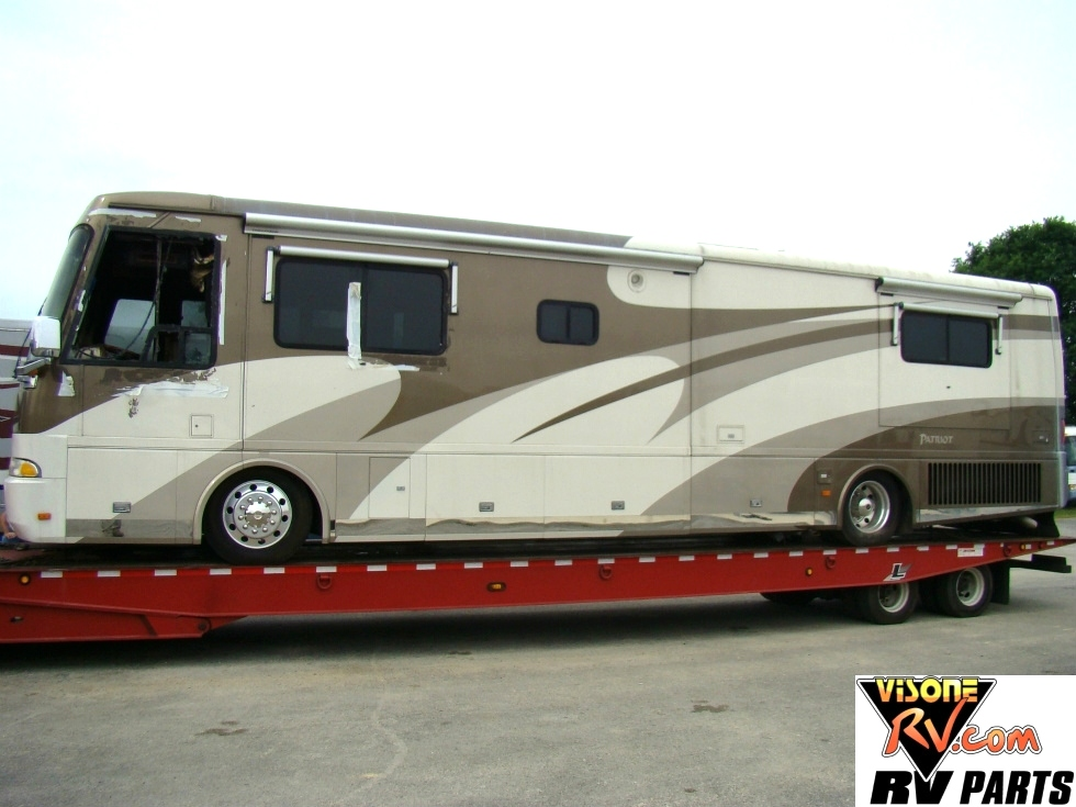 PARTS FOR A 2002 BEAVER PATRIOT THUNDER MOTORHOME FOR SALE VISONE RV SALVAGE  Used RV Parts