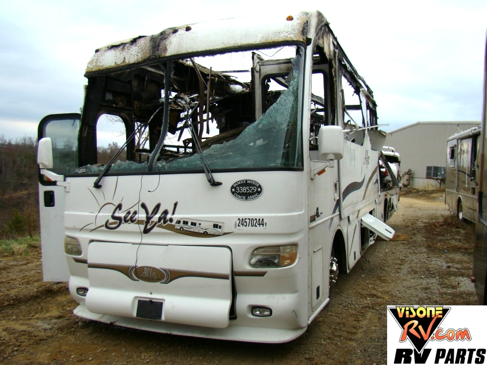 USED RV MOTORHOME PARTS- SALVAGE - 2004 ALFA SEE YA PART FOR SALE BY VISONE RV  Used RV Parts