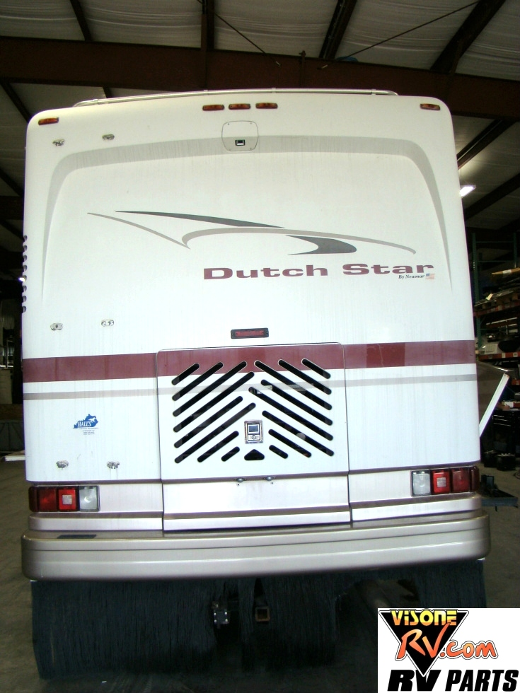 2001 NEWMAR DUTCH STAR MOTORHOME RV PARTS. CAT 3126 DIESEL ENGINE, ALLISON AUTOMATIC TRANSMISSION FOR SALE. NEWMAR CARGO DOORS, FRONT AND REAR CAPS. C Used RV Parts