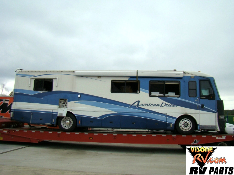 AMERICAN COACH PARTS DEALER - 1998 AMERICAN DREAM USED RV SALVAGE  Used RV Parts